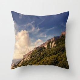 Sunset of Kings Throw Pillow
