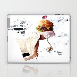 Burgery is a Sin Laptop & iPad Skin