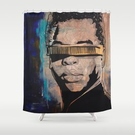 Geordi Shower Curtain