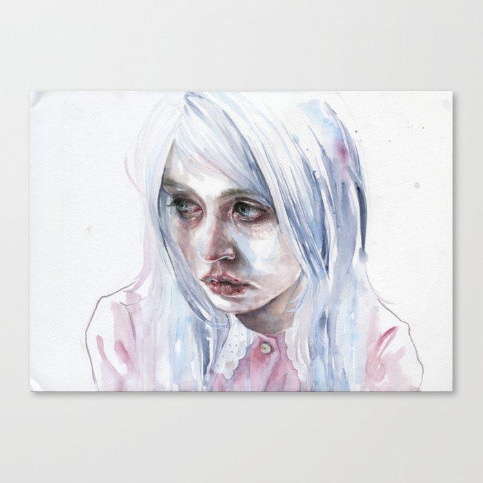 creepychan on moleskine Canvas Print