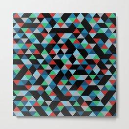 Triangles 4B Metal Print
