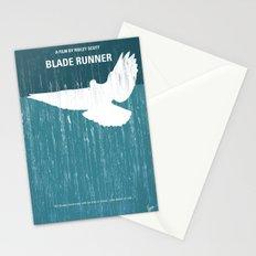 No011 My Blade Runner minimal movie poster Stationery Cards