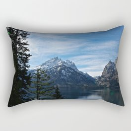 Jenny Lake/Tetons Rectangular Pillow
