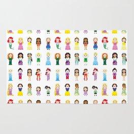 Pixel Princesses Rug