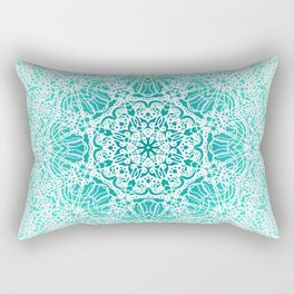 Mehndi Ethnic Style G344 Rectangular Pillow