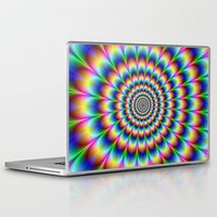trippy Laptop & iPad Skins featuring Trippy by Hipster's Wonderland