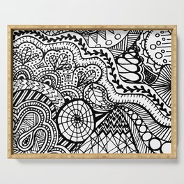 Doodle2 Serving Tray