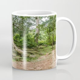 Strangler Fig Trees and Stones in the Angkor Archaeological Park, Siem Reap, Cambodia Coffee Mug