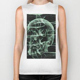 webbed skull Biker Tank