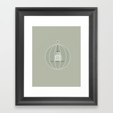 PLZ HELP Framed Art Print