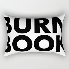 BURN BOOK Rectangular Pillow