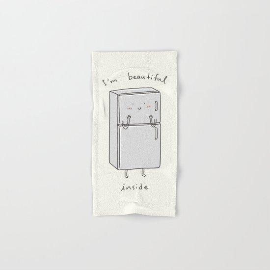 I'm Beautiful Inside Hand & Bath Towel