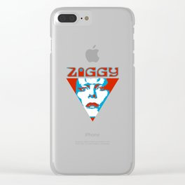 Ziggy - Bowie Clear iPhone Case