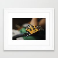 bass Framed Art Prints featuring Bass by Gaby Mabromata