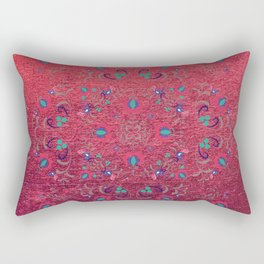 FOLK PATTERN #society6 Rectangular Pillow