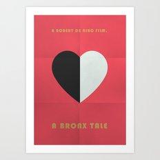 A Bronx Tale Minimalist Poster Art Print
