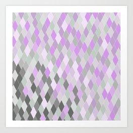 Clouds Amongst the Lavender Art Print