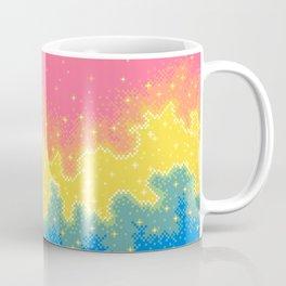 Pan Pride Flag Galaxy Coffee Mug