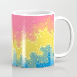 Pan Pride Flag Galaxy Coffee Mug