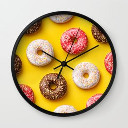 Donuts lovers Wall Clock
