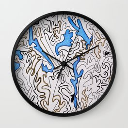 Abstract Pattern #1 Wall Clock