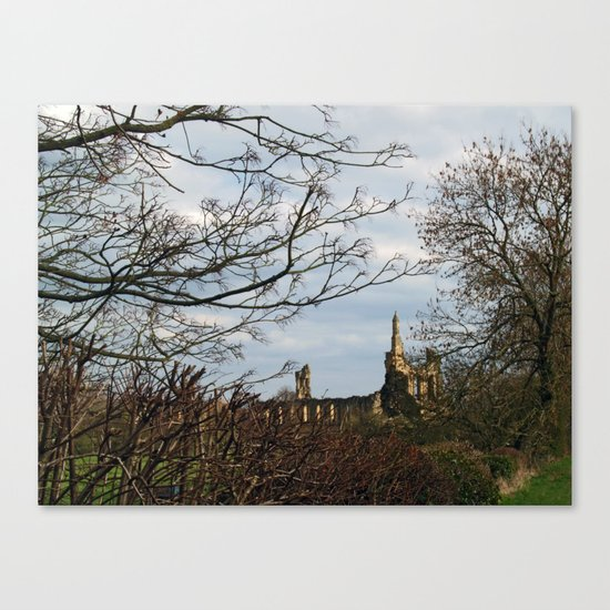 Byland Abbey Canvas Print