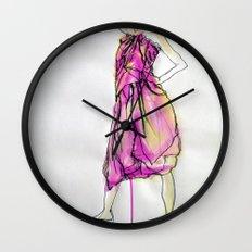 Sarong I Wall Clock