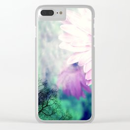 Falling for Spring Clear iPhone Case