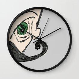 el mustachio Wall Clock