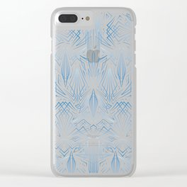 Pinstripe Pattern Creation I Clear iPhone Case