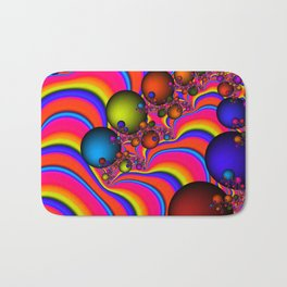 Blinding Color Bath Mat