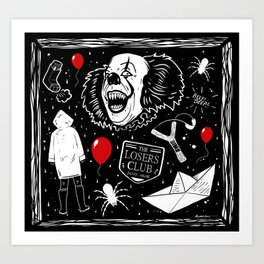 Welcome to Derry! Art Print