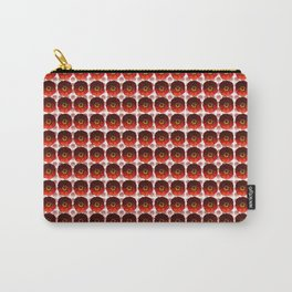 Pink and Red Poppies Pattern  Carry-All Pouch