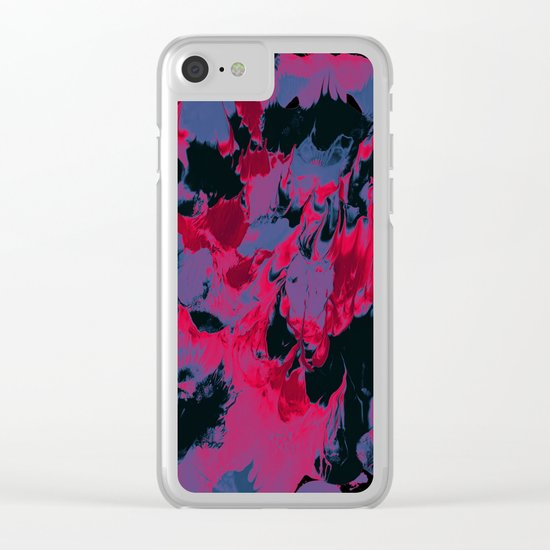 Malice Clear iPhone Case
