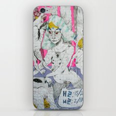 party status iPhone & iPod Skin