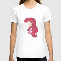 ariel T-shirts featuring Ariel.  by Nic Moore