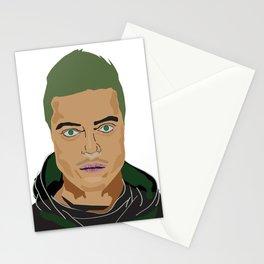Rami Malek pop art Stationery Cards