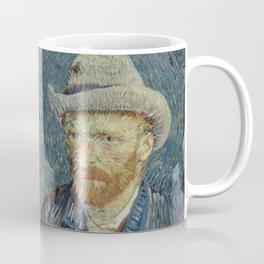 "Vincent van Gogh ""Self Portrait With Grey Felt Hat"" Coffee Mug"