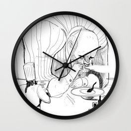 the big gourmand Wall Clock