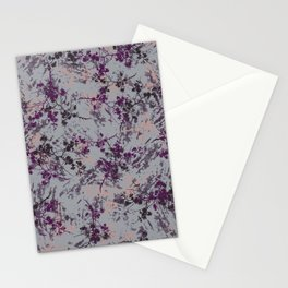 Chalk Branches-Purple Stationery Cards