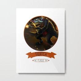 League Of Legends - Twitch Metal Print