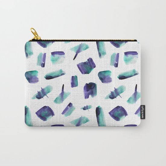 Zero gravity || abstract watercolor Carry-All Pouch