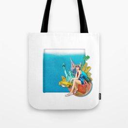 World travel Tote Bag