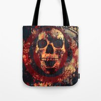 ed sheeran Tote Bags featuring Happy Ed by Sirenphotos