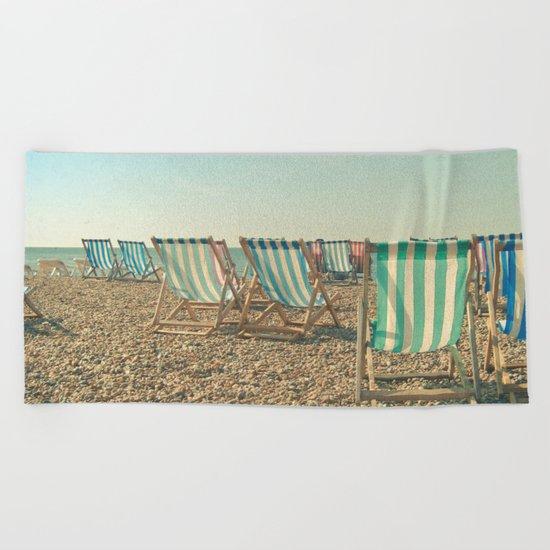 A Sea View Beach Towel