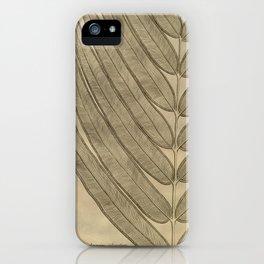 Naturalist Leaf iPhone Case