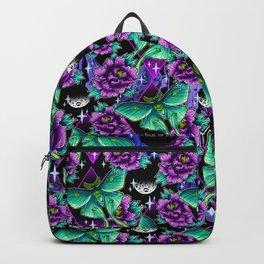 Luna Moth Pattern Backpack