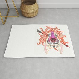 Slain Demon Rug