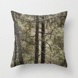 An Himachal Backyard Throw Pillow