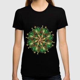 new year tree mandala T-shirt